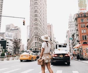 city, new york, and wanderlust image