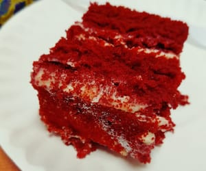 cheese cake, red velvet, and sweettooth image