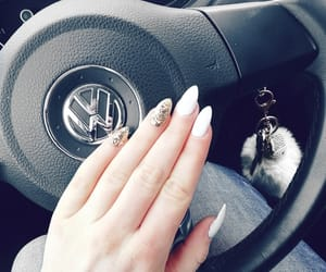 nails, naglar, and vw image