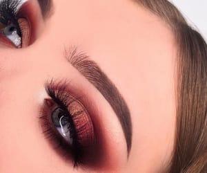 eyes, eyeshadow, and beauty image