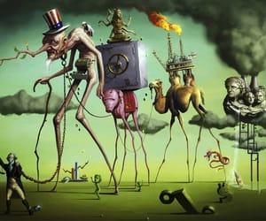 art, salvador dali, and neoliberalism image