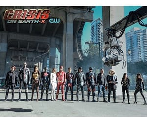 Supergirl, the flash, and earth x image