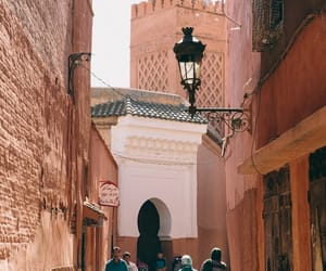city, marrakesh, and morocco image