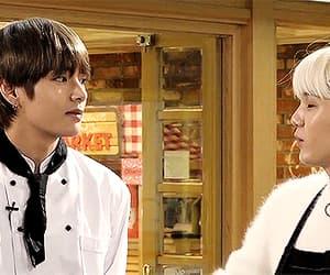 gif, yoongi, and kim image