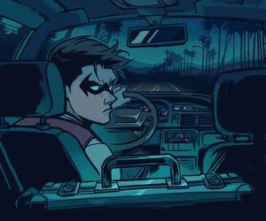 batman, dc comics, and cyborg image