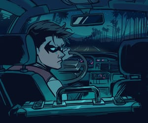 batman, cyborg, and raven image