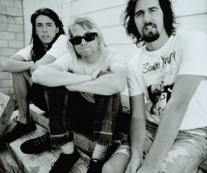 nirvana, kurt cobain, and dave grohl image