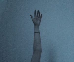 arm, dark, and art image