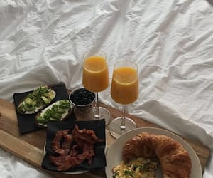bed, fit, and food image