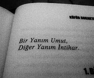 ask, umut, and kitap image