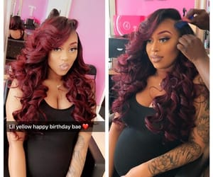 curls, red hair, and mommy image
