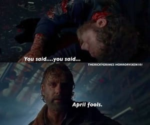 laughs, season 8, and twd image