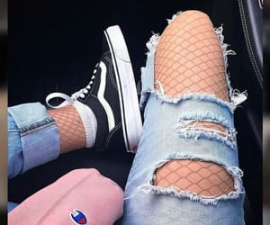 vans, tumblr, and jeans image
