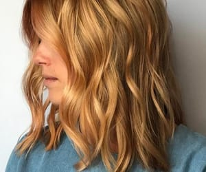 blonde, colors, and hair image