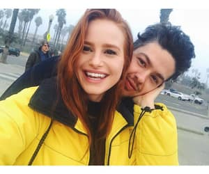 madelaine petsch, couple, and riverdale image