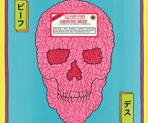 art, gross, and skeleton image