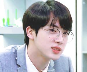 kim seokjin, gif, and icon image