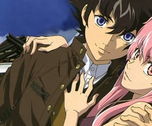 mirai nikki, anime, and yuno gasai image