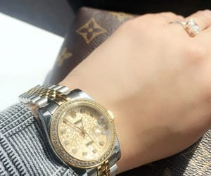 hands, LV, and rings image