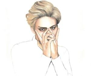 fanart, korean, and Jonghyun image