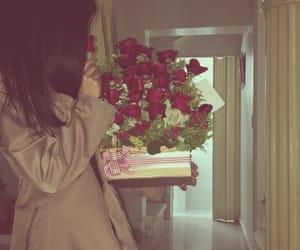 amor, rosa, and rosas rojas image