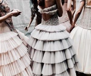 fashion, backstage, and beauty image
