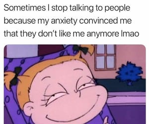 meme and social anxiety image