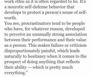procrastination, quotes, and @ayesha_tariq001 image