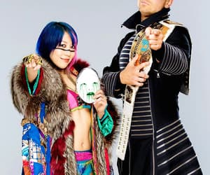 asuka, wwe, and the miz image