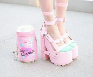 shoes, kawaii, and pastel image