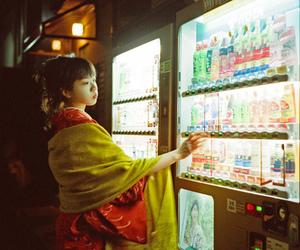 girl, japan, and kimono image