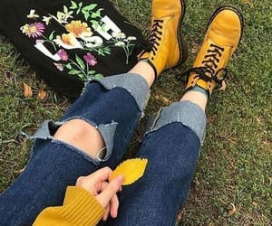 yellow, alternative, and aesthetic image