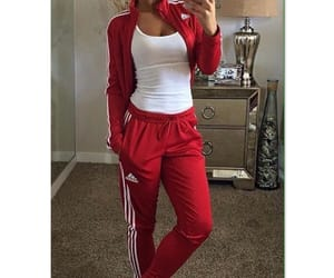 adidas, Chica, and girls image