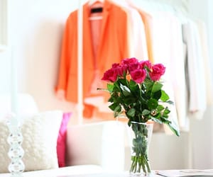 clothes, luxury, and flowers image