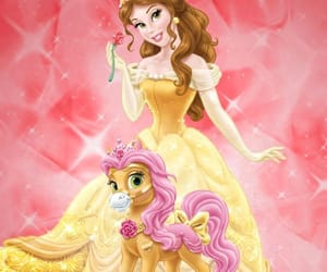 belle, beautyandthebeast, and palace pets image