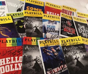 broadway, souvenirs, and signed image