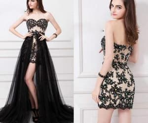 evening dress and prom dress image