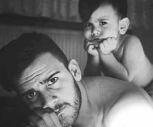 baby and father image