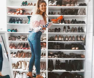 shoes, closet, and girl image