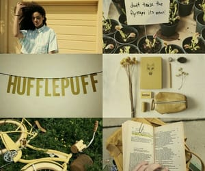 hufflepuff, harry potter, and hogwarts image
