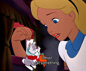 alice in wonderland, text, and subtitles image