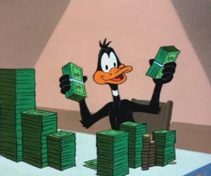 money, cartoon, and cash image