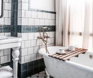 marble, amazing, and bathroom image