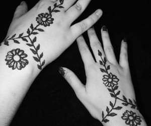 aesthetic, bohemian, and henna image