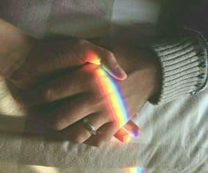 beautiful, rainbow, and 🌈 image