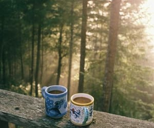 coffee, morning, and peace image