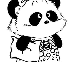 артбук, рисунки, and панда image