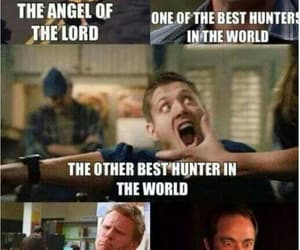 angel, Devil, and king of hell image