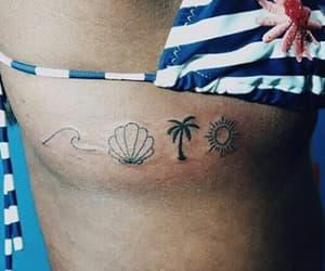 ondas, sol, and coqueiro image