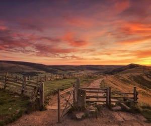 beautiful, countryside, and sky image